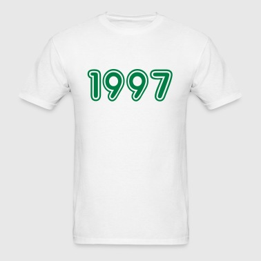 1997, Numbers, Year, Year Of Birth - Men's T-Shirt