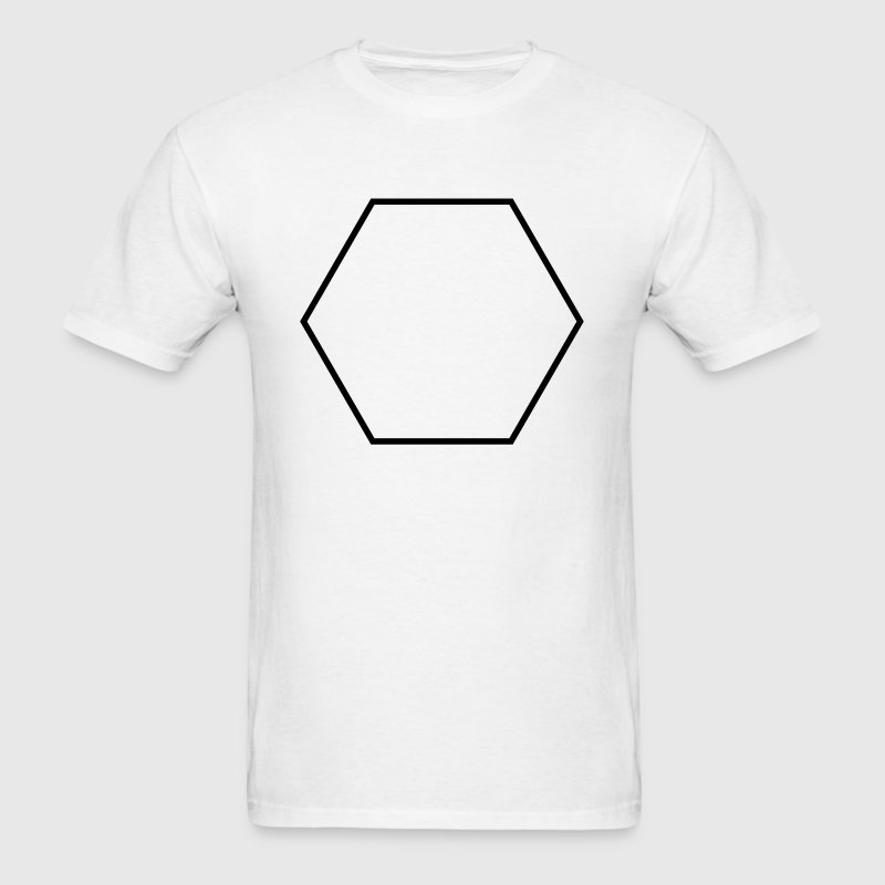 Hexagon shape - Men's T-Shirt