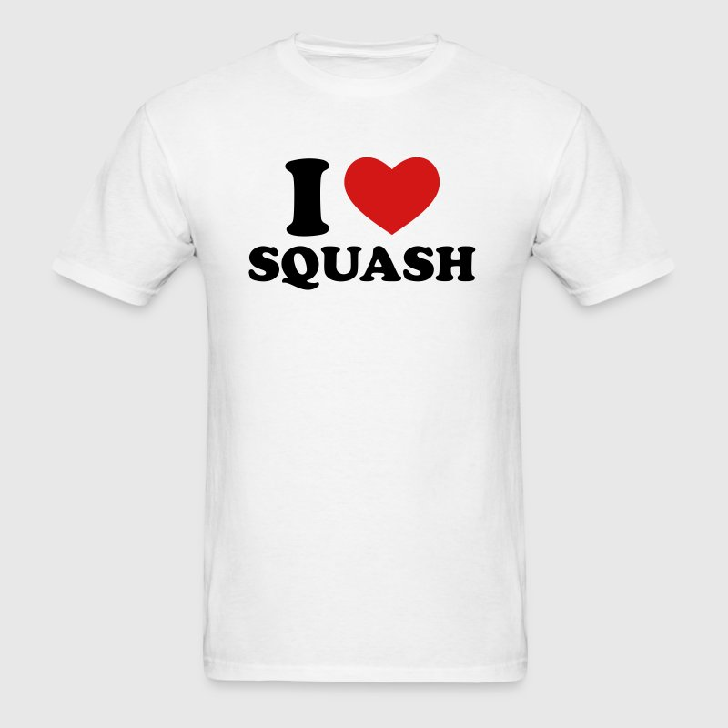 I Love Squash - Men's T-Shirt