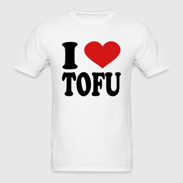 I Love Tofu - Men's T-Shirt