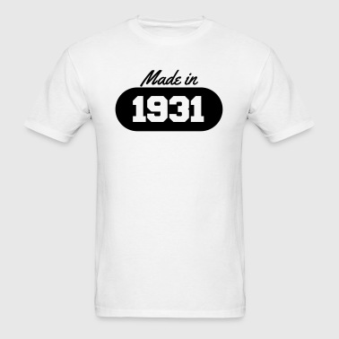 Made in 1931 - Men's T-Shirt