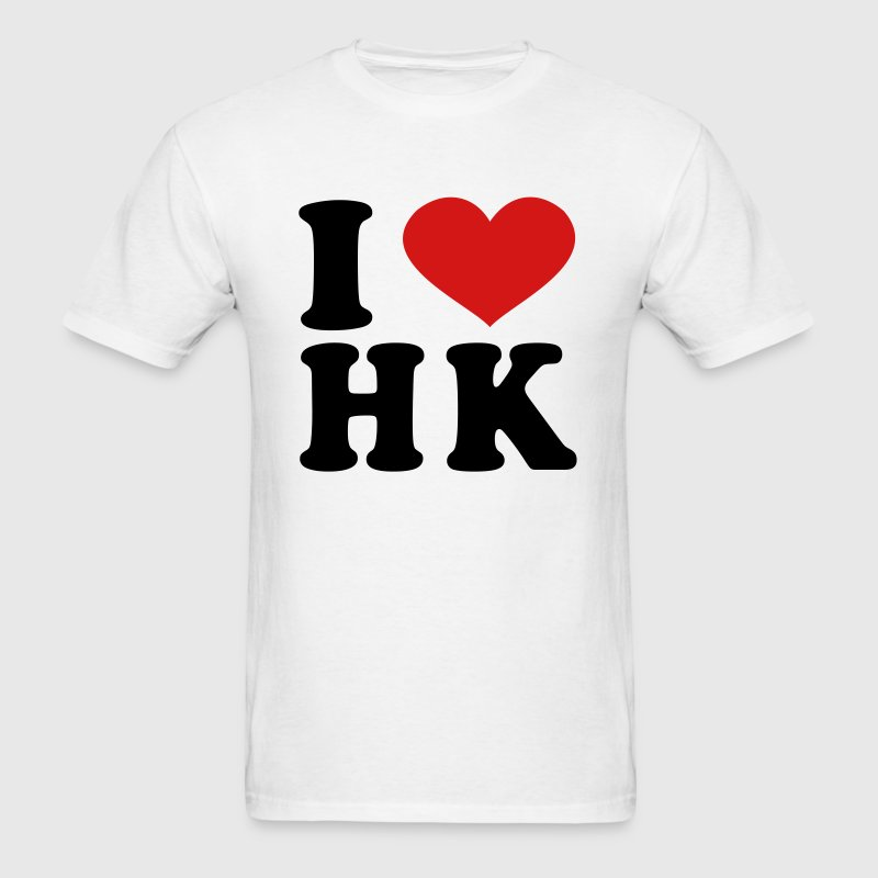 I Love HK - Men's T-Shirt