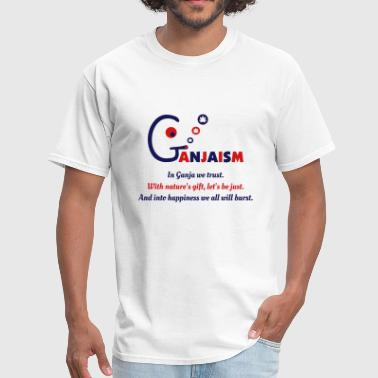 Ganjaism Poem - Men's T-Shirt