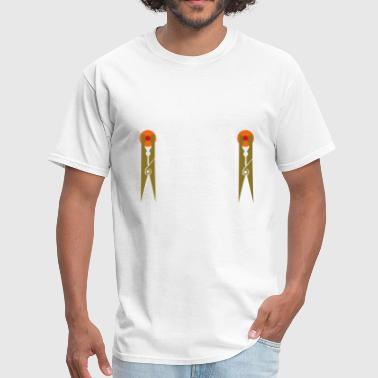 Nipple Pins - Men's T-Shirt
