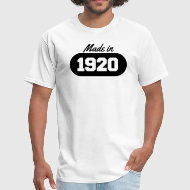 Made in 1920 - Men's T-Shirt