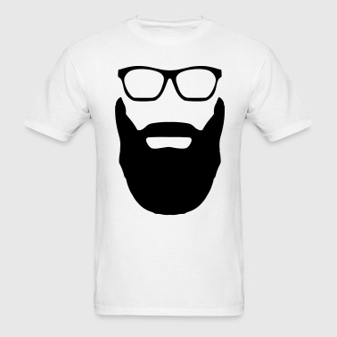 Beard and Glasses - Men's T-Shirt