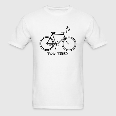 Two Tired - Bicycle - Men's T-Shirt
