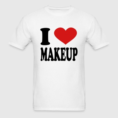 I Love Makeup - Men's T-Shirt