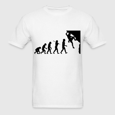 Rock Climbing Evolution - Men's T-Shirt