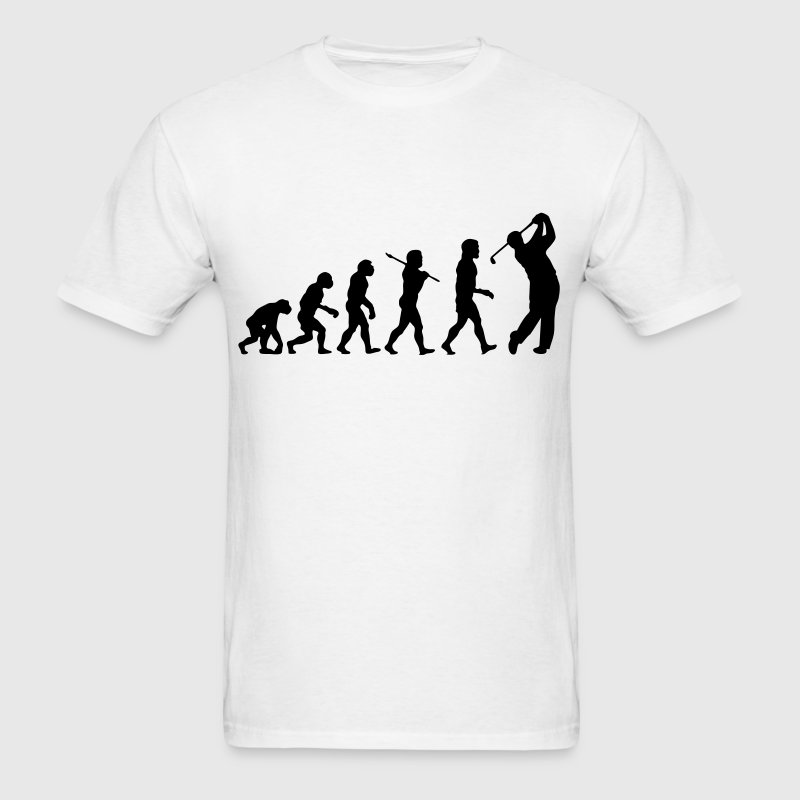 Golf Evolution - Men's T-Shirt