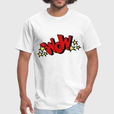 Wow! - Men's T-Shirt
