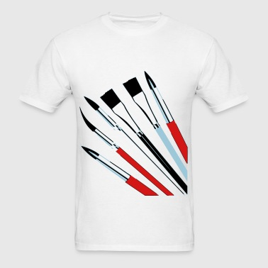 Brushes - Men's T-Shirt