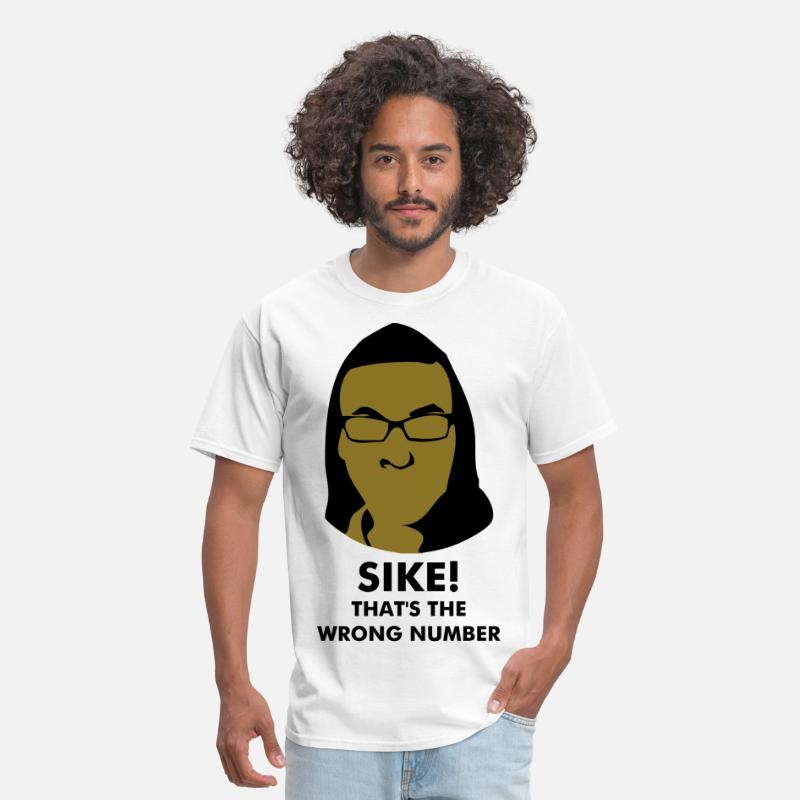 Sike T-Shirts - Super Hot Fire [But I'm Not A Rapper] - Men's T-Shirt white
