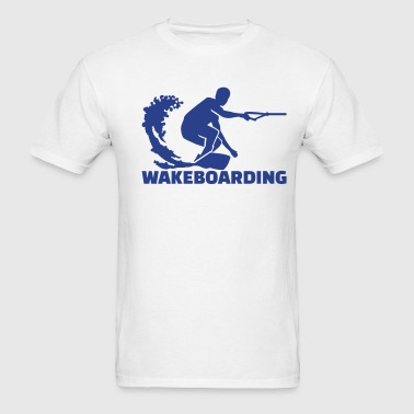 Wakeboarding - Men's T-Shirt