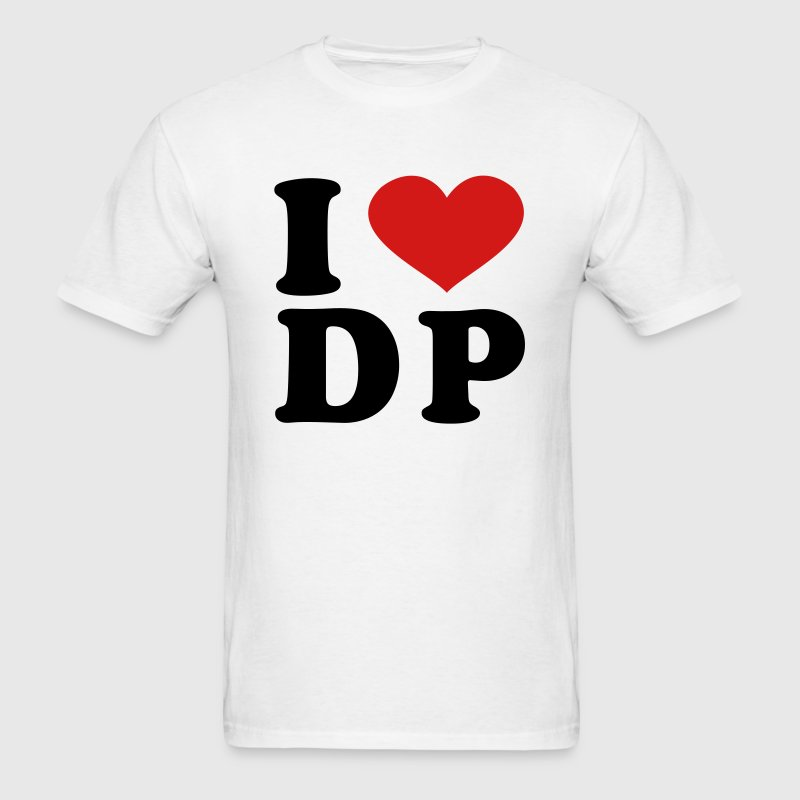 I Love DP - Men's T-Shirt