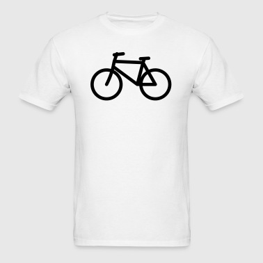 Bicycle Icon - Men's T-Shirt
