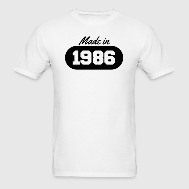 Made in 1986 - Men's T-Shirt