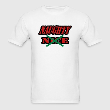 Naughty, Not Nice - Men's T-Shirt