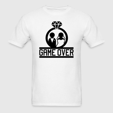 Game Over - Wedding - Men's T-Shirt