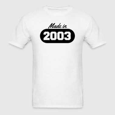 Made in 2003 - Men's T-Shirt