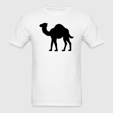Camel Silhouette - Men's T-Shirt