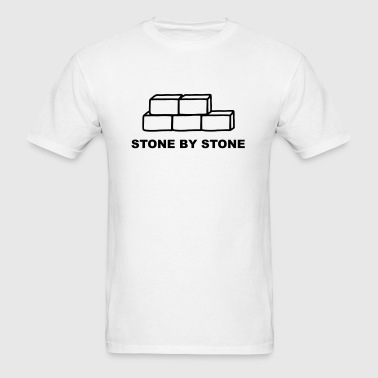 Stone by Stone - Men's T-Shirt