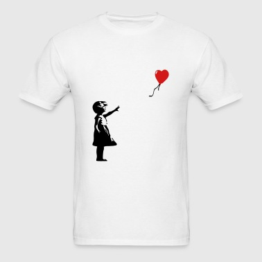 KCCO - Balloon Girl Banksy - Men's T-Shirt