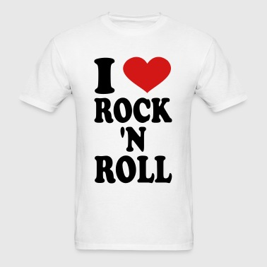 I Love rock n roll - Men's T-Shirt