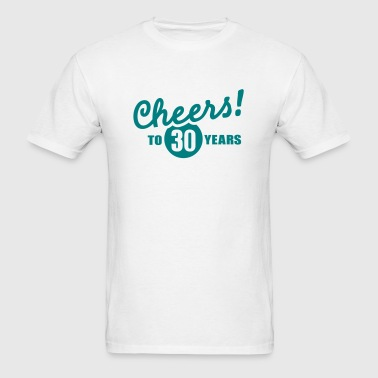 30 Birthday - Men's T-Shirt