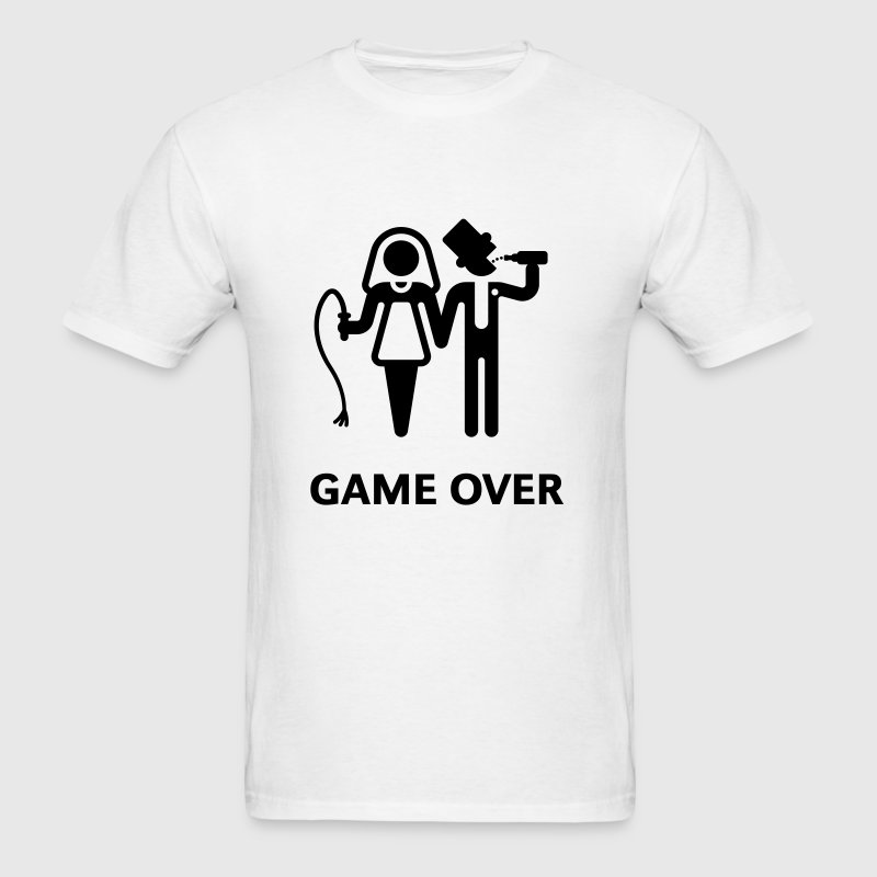 Game Over (Whip and Beer) - Men's T-Shirt