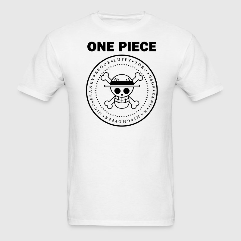 ONE PIECE BLACK - Men's T-Shirt