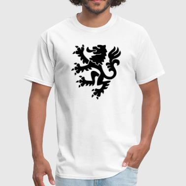 Medieval Lion Claws Crest 1c - Men's T-Shirt