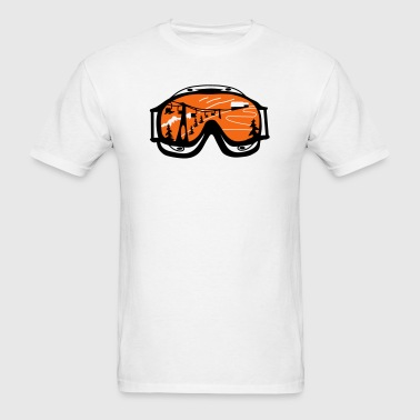 ski goggles - Men's T-Shirt