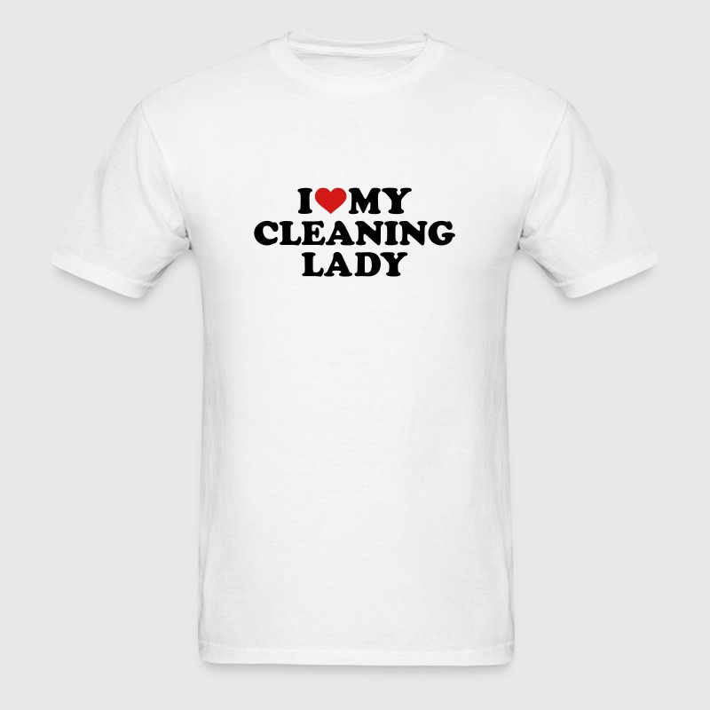 Cleaning lady - Men's T-Shirt