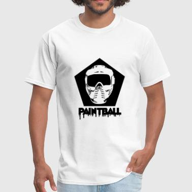 Paintball,paintball mask,marker,paint ball gun, - Men's T-Shirt