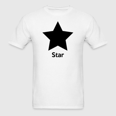 Star Shape - Men's T-Shirt