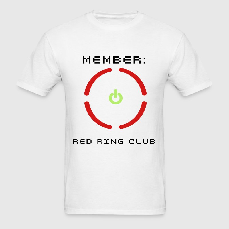 Red Ring of Death - Men's T-Shirt