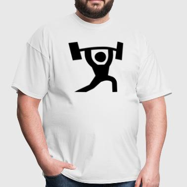 Weightlift Icon - Men's T-Shirt