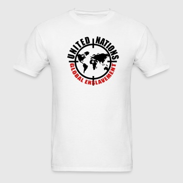 UN global enslavement - Men's T-Shirt