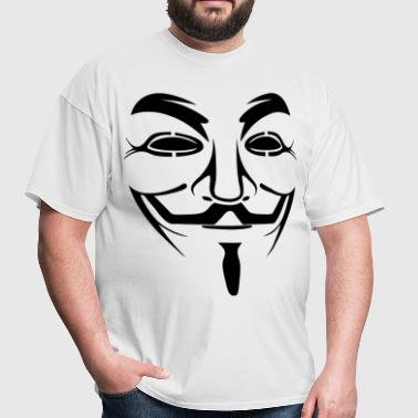 Anonymous HD VECTOR - Men's T-Shirt