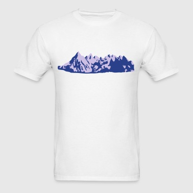 Mountains, Mountain - Men's T-Shirt