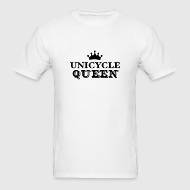 unicycle queen - Men's T-Shirt