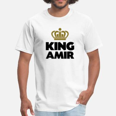 Amir Khan King amir name thing crown - Men's T-Shirt