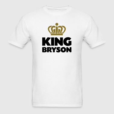 King bryson name thing crown - Men's T-Shirt