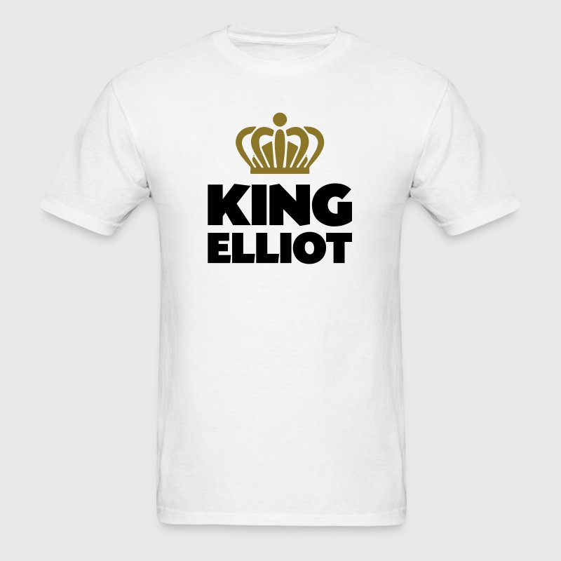 King elliot name thing crown - Men's T-Shirt