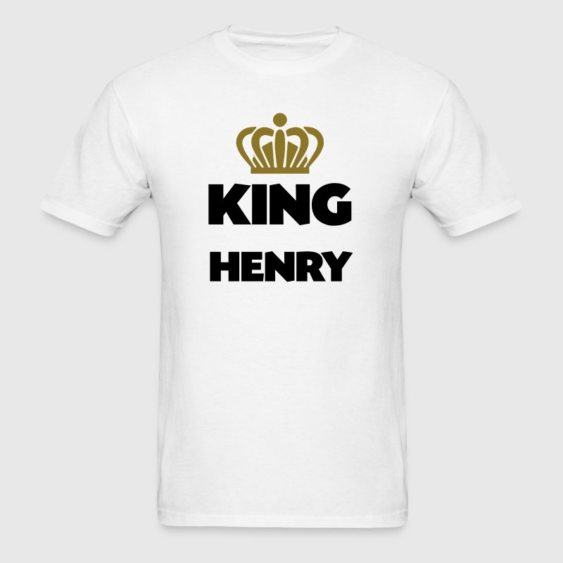 King henry name thing crown - Men's T-Shirt
