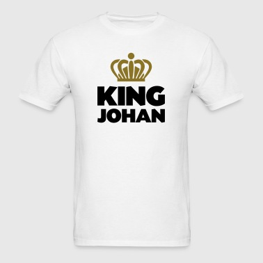 King johan name thing crown - Men's T-Shirt