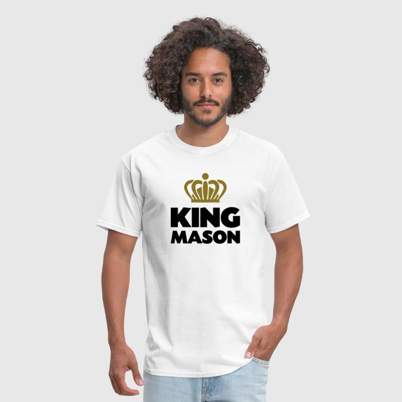 King mason name thing crown - Men's T-Shirt