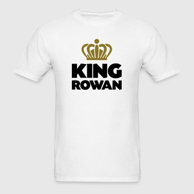 King rowan name thing crown - Men's T-Shirt