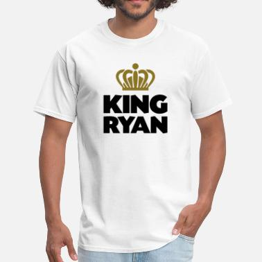 King Ryan King ryan name thing crown - Men's T-Shirt